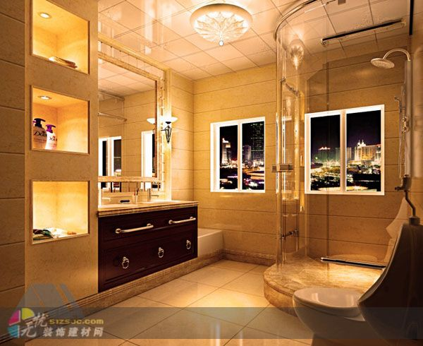 墙面刮腻子刷乳胶漆,电视背景墙装饰,圆弧造型,灯饰安装,地面铺砖,贴